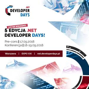 .NET DeveloperDays 2018